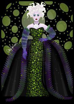 Sherie Rene Scott as Ursula by ~Cor104 on deviantART
