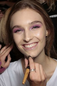 Spring/Summer 2015 Beauty Trends To Try Now: Lavender Shadows