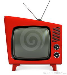 Picture of style retro plastic TV with a trapezoidal design, isolated on white stock photo, images and stock photography. Vintage Television, Television Set, Tvs, Tv Sets, Vintage Tv, Old Tv, Retro Futurism, Tv On The Radio, 1950s Fashion