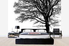 Alone Tree - b/w - Tapetit / tapetti - Photowall