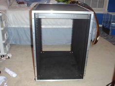 DIY server rack...My husband is building this!