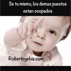 Se tu mismo #robertoyelva