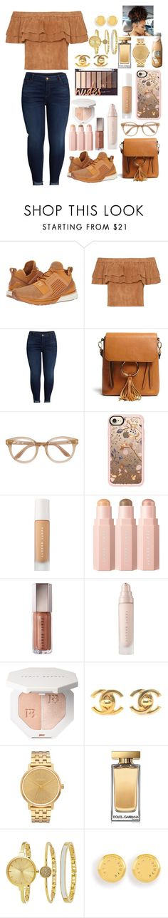 """""""Untitled #68"""" by lashayboss-luv on Polyvore featuring Puma, KUT from the Kloth, Forever 21, Tom Ford, Casetify, Chanel, Nixon, Dolce&Gabbana, SO & CO and Henri Bendel"""