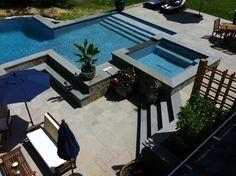 Negative Edge Infinity Pool & Spa in Southampton | Patricks Pools ...