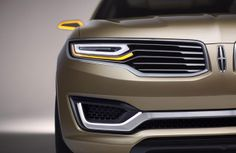 Lincoln MKX Concept unveiled in Beijing, preview new global production SUV [video] - Photos