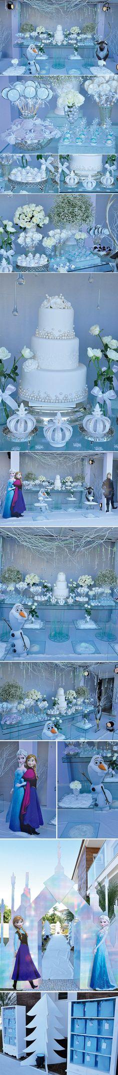 Decoração temática: Frozen