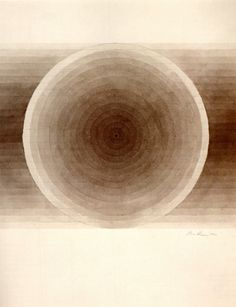 Eva Hesse Untitled, 1966 Brown ink with wash 350 x 273 mm Eva Hesse, Franz Kline, Art Plastique, Sacred Geometry, Female Art, Rugs On Carpet, Painting & Drawing, Contemporary Art, Abstract Art