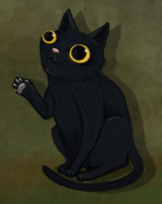 AWWWW MR.MIDNIGHT IS ADORABLE