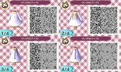 Animal Crossing QR Code - Dress - Angel