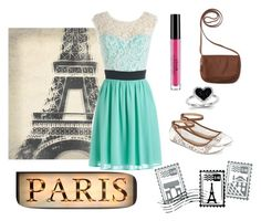 """""""I'm dreaming of Paris"""" by jolieferne ❤ liked on Polyvore featuring Dot & Bo, Stila, Call it SPRING, Kevin Jewelers, Leftbank Art and Aéropostale"""