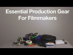 Essential Video Production Gear for Filmmakers; 12 Essential Filmmaking Tools Under $20