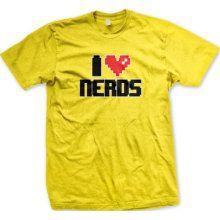 I emLove/em Nerds Video Gamer Style Heart emGeek/em Romance Funny Cutesie ...