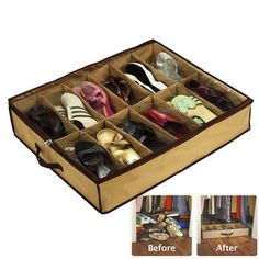 As Seen On TV Shoes Under Space Saving Solution | Wayfair