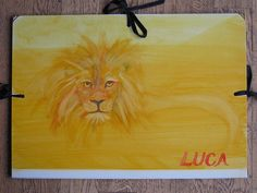 Waldorf ~ 4th grade ~ Human & Animal ~ Lion ~ painting