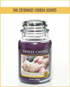 12 Awesomely Strange Yankee Candle Scents