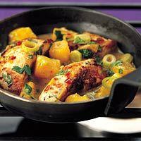 Recept - Pittige kipfilet met mango - Allerhande