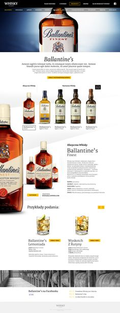 Whisky on Web Design Served