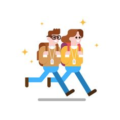 Google Campus Seoul – opendoor Google illustration