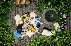 Kesä on ihan parasta...etenkin kun voi olla kotona eikä ole kiire minnekään. #kesä #patio #puutarha #lakka #pihakiveys Need A Vacation, Urban Gardening, Studio Ghibli, Finland, Outdoors, Rooms, Modern, Inspiration, Bedrooms