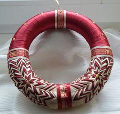 Věnec na dveře č. 4 :: Creative ribbons