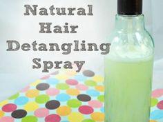 HAARGLÄTTER     DIY Natural Hair Entwirren Spray Naturpreiswert und einfach zu machen 365x274 DIY Haar Entwirren Spray