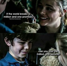 Cassie and Sammy. The 5th Wave Series, Tony Revolori, Wave Book, Wave Quotes, The Fifth Wave, The Last Star, Movie Marathon, Reasons To Live, A Series Of Unfortunate Events