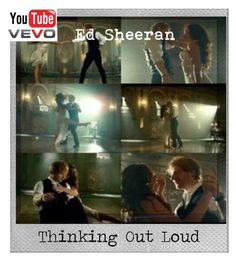 """Music Video for "" Thinking Out Loud "" [ DSI & Comment What you think ]"" by celestemylanvuelto ❤ liked on Polyvore featuring beauty and Polaroid"