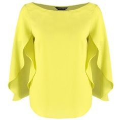 Dorothy Perkins Blouse - lime green for with free delivery at Zalando Blouse Styles, Blouse Designs, Yellow Blouse, Yellow Top, Mode Chic, Mode Vintage, Printed Blouse, Cute Tops, Dress Patterns