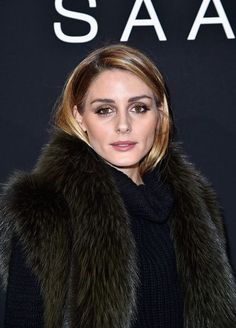 Olivia Palermo at Elie Saab Spring/Summer 2016 Show in Paris