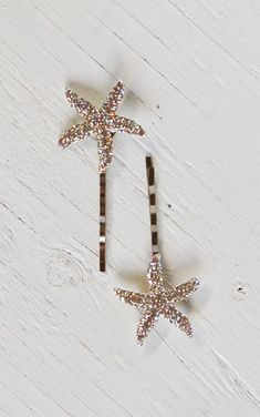 Rhinestone STARFISH Hair Accessories Bobby Pin