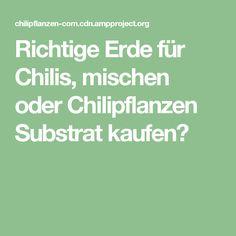 Richtige Erde für Chilis, mischen oder Chilipflanzen Substrat kaufen?