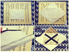 How do you make your own envelope DIY Envelope