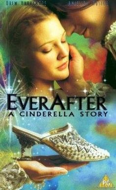 """Ever After ~ A Cinderella Story Drew Barrymore and Dougray Scott. The """"real"""" story of Cinderella. A refreshing new take on the classic fairy tale. Film Music Books, Music Tv, Movies Showing, Movies And Tv Shows, Dougray Scott, A Cinderella Story, Cinderella Slipper, Anjelica Huston, Bon Film"""
