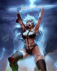 Taarna Heavy Metal, Heavy Metal Movie, Fantasy Art Women, Fantasy Girl, Dark Fantasy, Fantasy Female Warrior, Female Art, Warrior Women, Mortal Combat Personajes