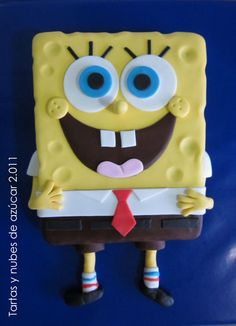 AWESOME  sponge bob cake !!!!!!!!!