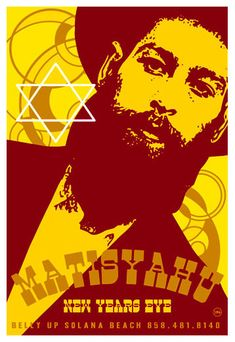 By Scrojo Matisyahu Poster Rock Posters, Music Posters, Art Posters, Concert Posters, Call And Response, Poster Pictures, Great Bands, Rock Art, Rock N Roll