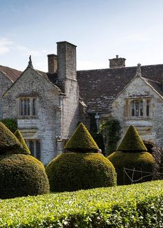 English country house & garden. Lytes Cary Manor House.