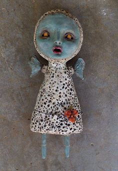 Calan Ree – Art and Musings   Artist Calan Ree – art blog and website – unusual art dolls, GingerDead comic and cards, Illustrated Jewelry, etc.