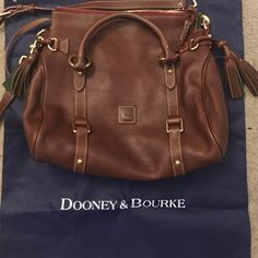 Brown Cow leather Dooney and Bourke purse Brown Cow leather Dooney and Bourke purse Dooney & Bourke Bags Crossbody Bags