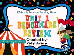 Does the 2nd Grade Pearson Reading Street series guide your reading lessons?  This engaging benchmark review was designed to help prepare your students for the Pearson Reading Street Unit 1 Benchmark test!  Click here to see what other 2nd grade Reading Street teachers have to say about this engaging reading resource and sit back and watch your students' benchmark scores increase!