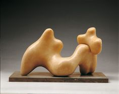 Barbara Hepworth (German, 1903-1975)  Large and Small Form, 1934  Marble