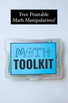 Free Printable Math Manipulatives