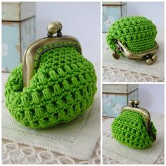 PATTERN Crochet Coin Purse Model nº 15 van PitusasyPetetes op Etsy