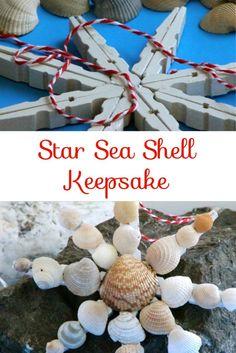 Beach Vacation Sea Shell Keepsake | My Husband Has Too Many Hobbies