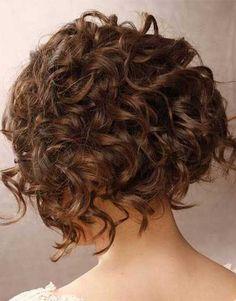 14.Curto cabelo Encaracolado