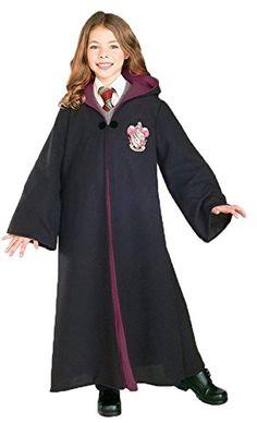 girls - Harry Potter Gryffindor Kids Costume M Halloween Costume @ niftywarehouse.com