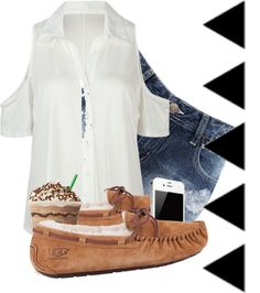"""""""Morning Sweeties :3"""" by mariethequeen ❤ liked on Polyvore"""