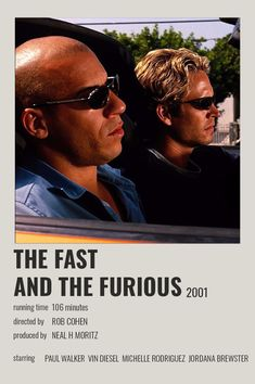 Iconic Movie Posters, Iconic Movies, Film Posters, Furious Movie, The Furious, Movies To Watch, Good Movies, Fast And Furious Actors, Fille Gangsta
