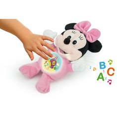 Minnie - Tenero Peluche Luminoso - Ottima idea regalo per neonato