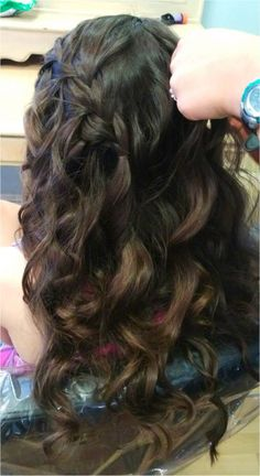 Waterfall braids!